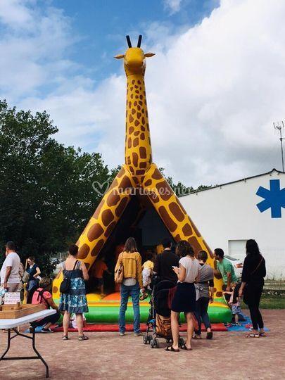 Structure Girafe
