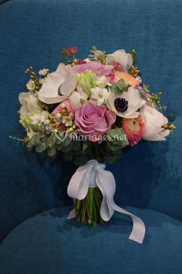 Bouquet de mariée vintage