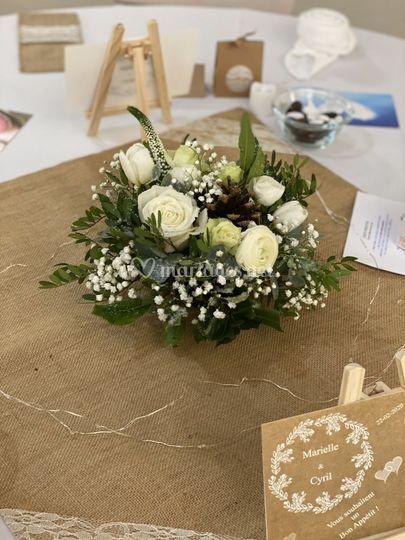 Mariage fleur d'hiver