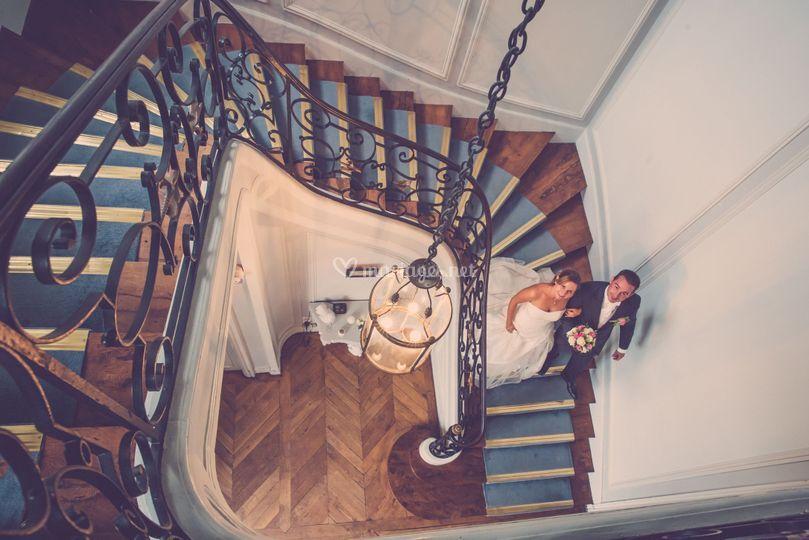 Escalier du château