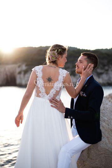 Mariage dans les Calanques