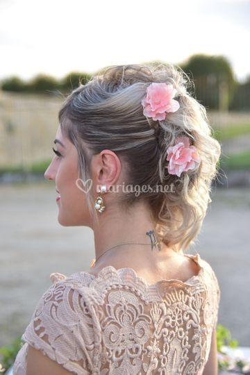 Fleurs pour les cheveux