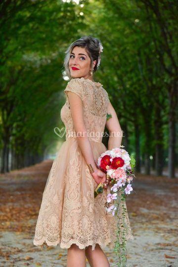 Bouquet de mariée Gwenaëlle