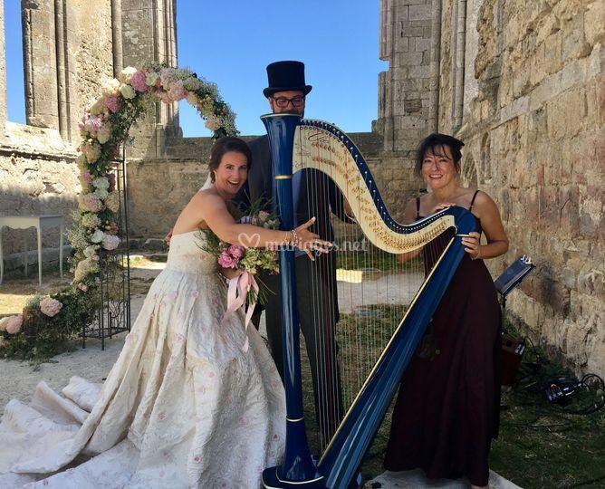 Magali Zsigmond - Harpiste