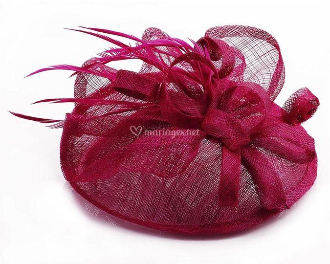 Chapeau rose fushia