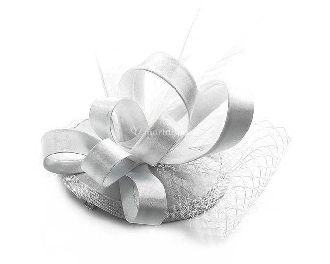 Bibi chapeau blanc