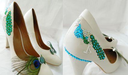 Tutoriel pour customiser les chaussures de mariage