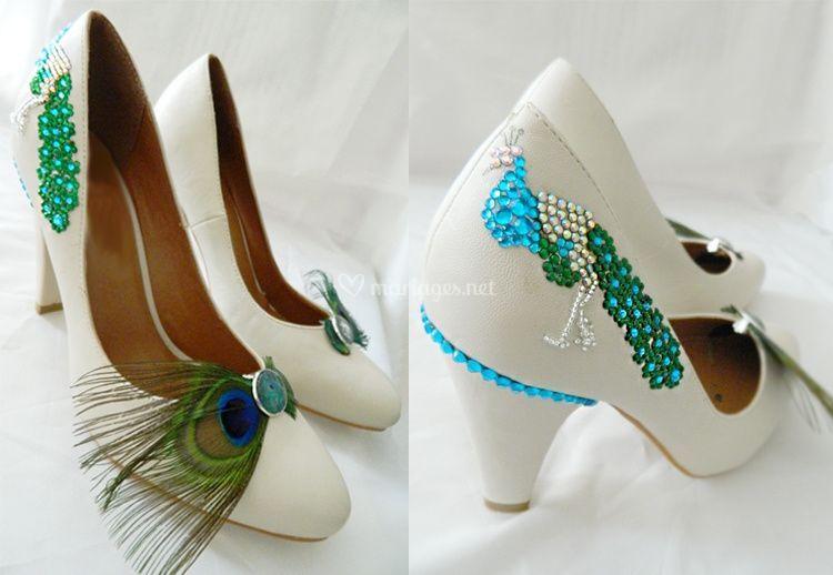 tutoriel pour customiser les chaussures de mariage. Black Bedroom Furniture Sets. Home Design Ideas
