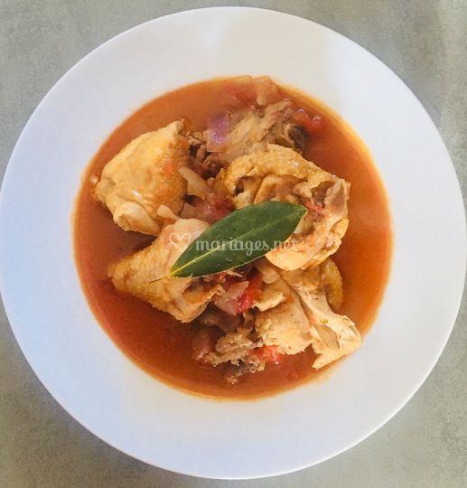 Kedjenou poulet à l'ivoirienne