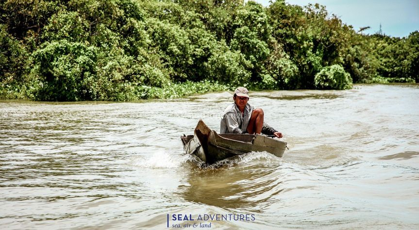 Lac Tonle Sap Cambodge