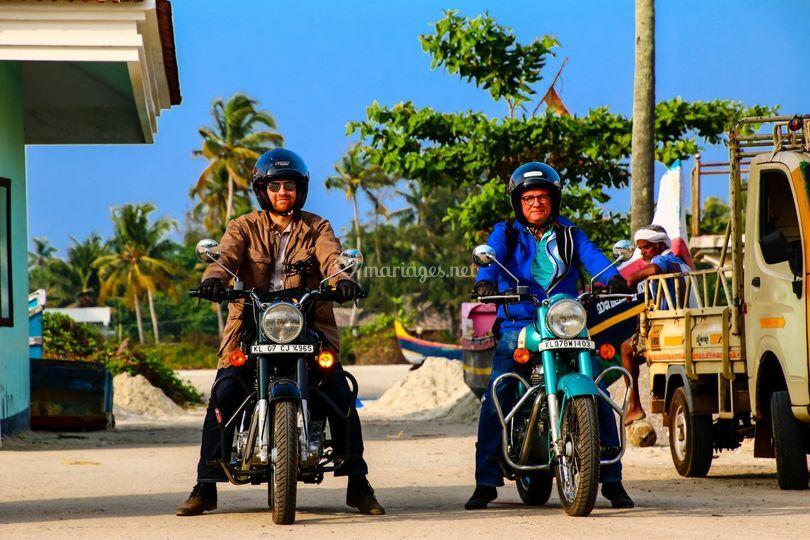 Inde à moto
