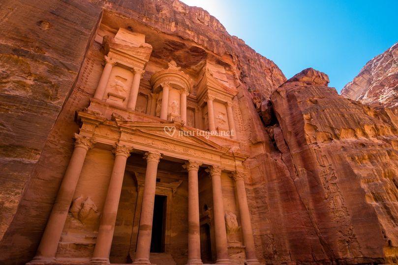 Jordanie Petra et le désert