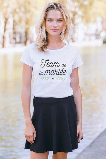 T-shirts pour toute ta team