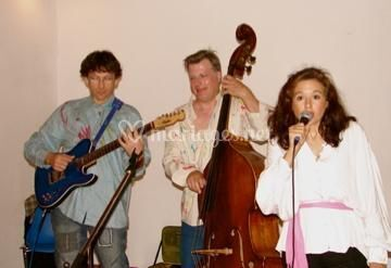 Chanteur et musiciens