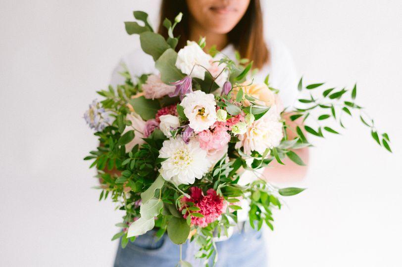 Bouquet destructuré