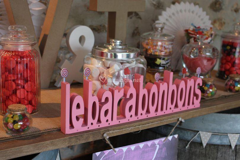 Le bar à bonbons