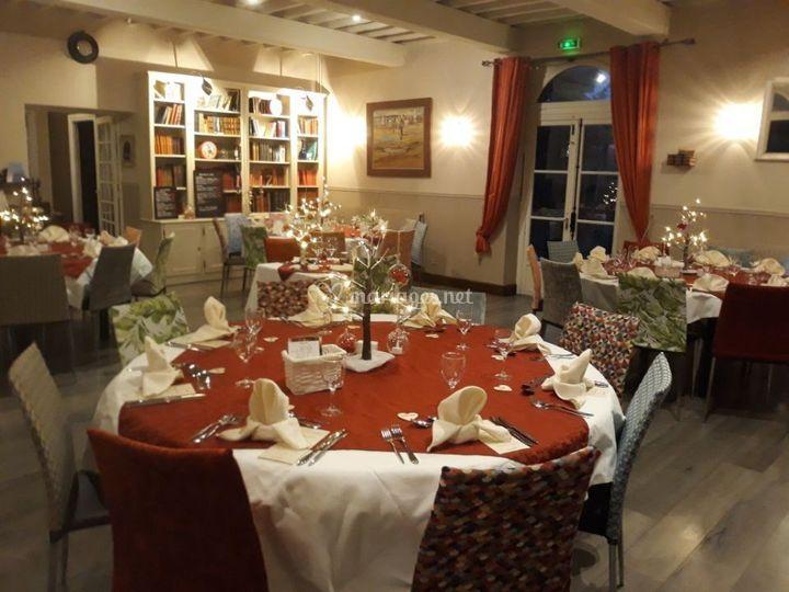 Salle décoré romantique