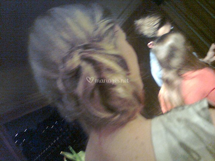Soirée shooting coiffure