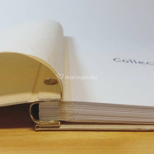 Livre d'or en papier népalais