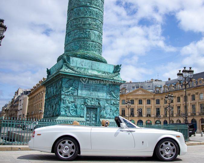 Rolls Royce phantom cabriolet