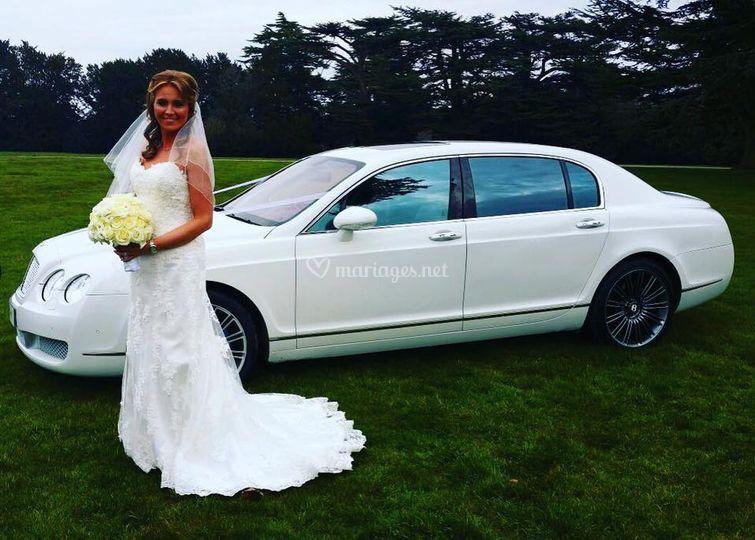 Location Bentley mariage