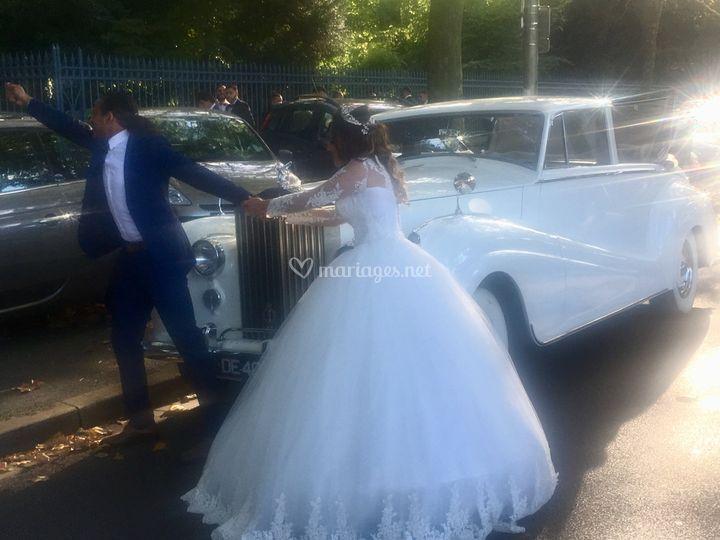 Rolls Royce Wraith Présidentielle