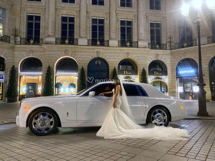 Se marier en Rolls