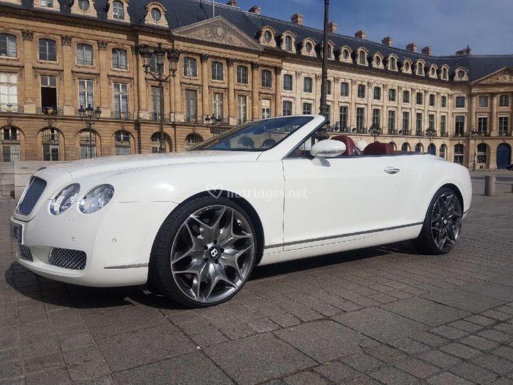 Bentley GTC Cabrio Blanche
