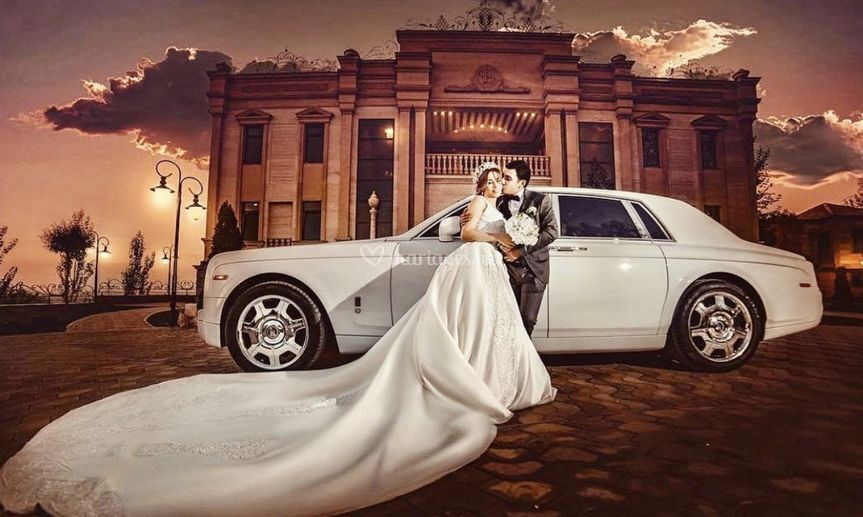 Location Rolls Royce blanche