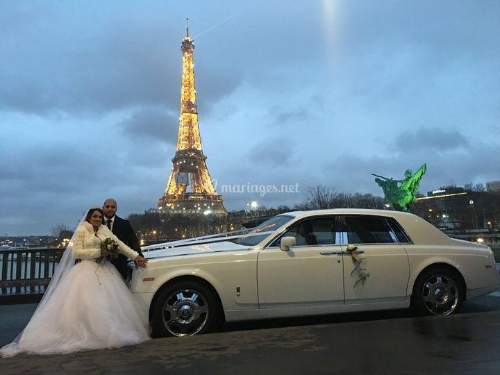 Location Rolls Royce Paris