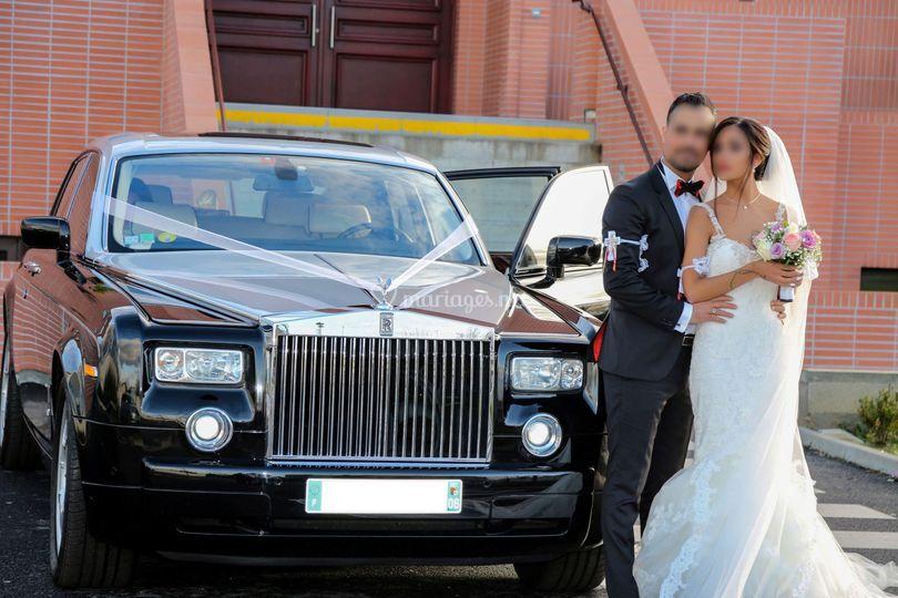 Couple Kaldéen en Rolls