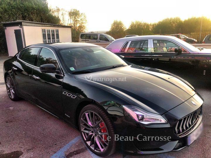 Voiture mariage Maserati