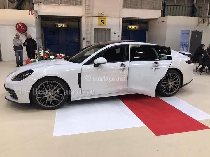 Voiture mariage Porsche