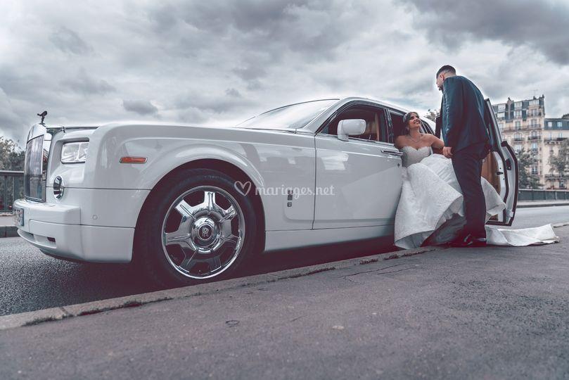 Mariage Egyptien en Rolls