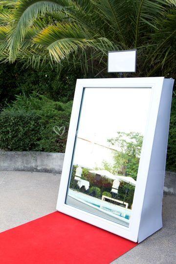 Selfie Mirror à L'Abbaye