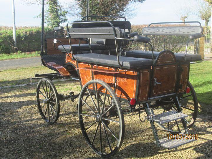 Wagonnette classique 8 pl.