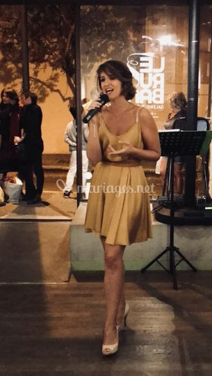 Magali FRESIA, chanteuse
