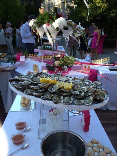 Plateaux d'huîtres