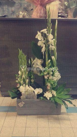 Composition de fleurs coupées