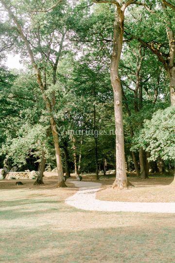 Manoir des Roches parc