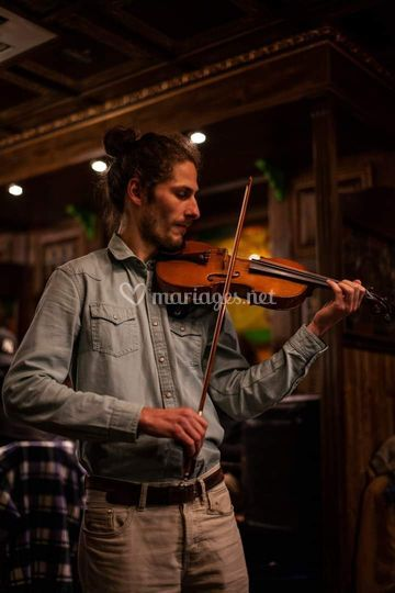 Maël, violon