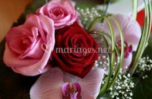 Large gamme de fleurs