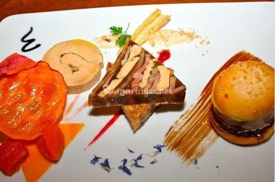 Déclinaison autour du foie gras