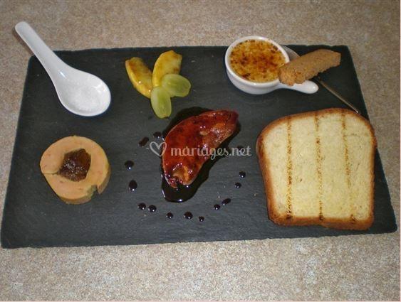 Gourmandises de foie gras
