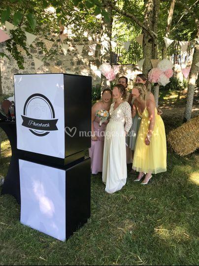 Photos avec la mariée