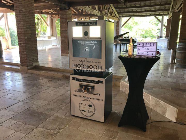 Photobooth au cocktail