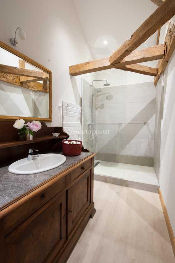 Salle de bain de Le Logis La Montagne | Photo 22