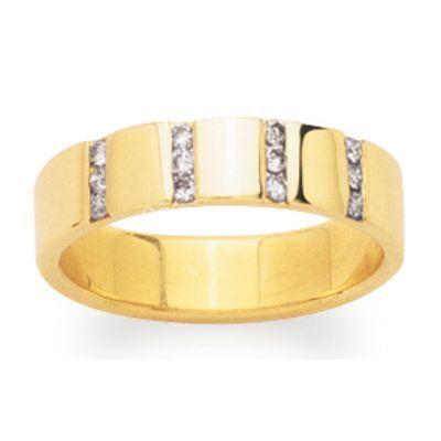Alliance or et diamants