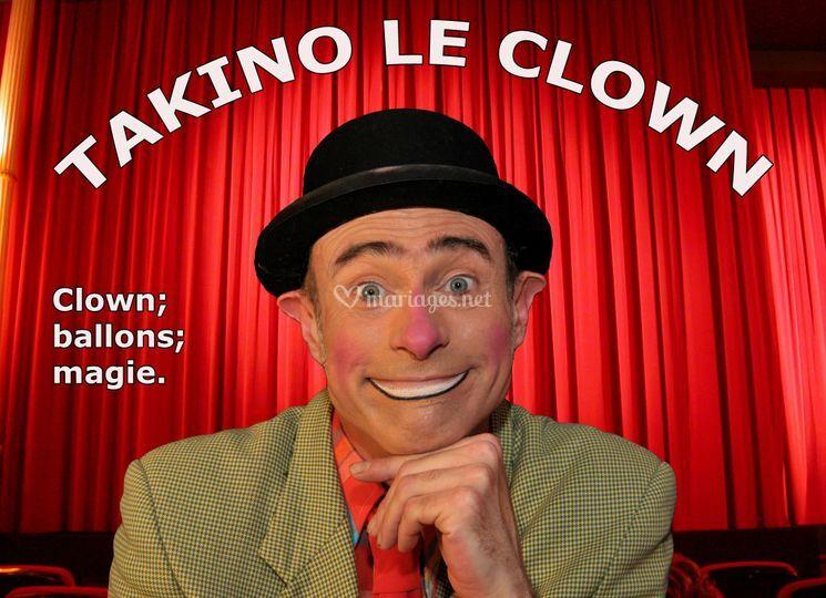 Takino le clown