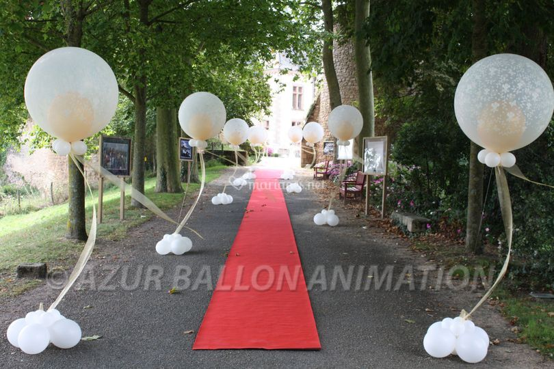 Azur ballon animation - Decoration ballon mariage ...